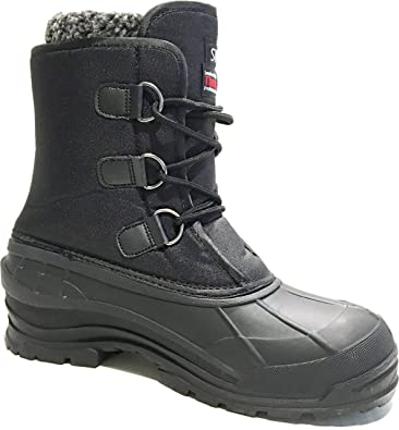 fe00d14ac92 L&M Men's Winter Snow Boots Shoes Waterproof Insulated 2008