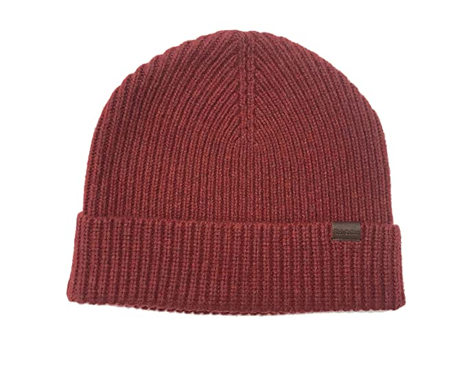 367d6aae7e6 Rich Cotton Wool Beanie (Berry) at Amazon Men s Clothing store