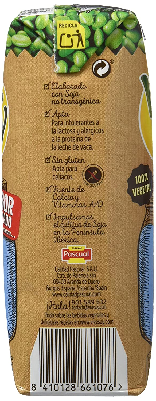 Vivesoy Bebida de Soja - Paquete de 3 x 250 ml - Total: 750 ml - [Pack de 7]: Amazon.es: Alimentación y bebidas