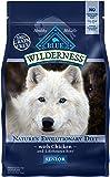 BLUE Wilderness High Protein Grain-Free Senior Dry Dog Food