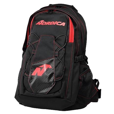 Nordica Unisex 0 N3036 – 741 Mochila Backpack Black/Red, color negro/rojo