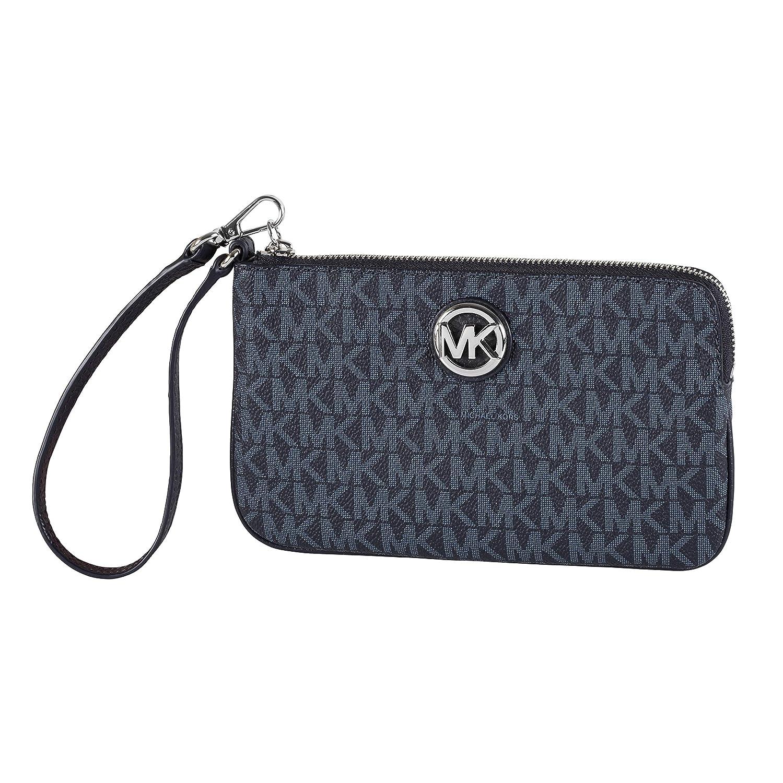 327b3aa482ea Michael Michael Kors Fulton Large Wristlet (Admiral)  Handbags  Amazon.com