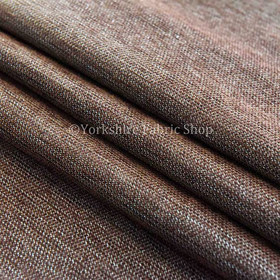 Yorkshire Fabric Shop Algodón suave Feel entrelazado de ...