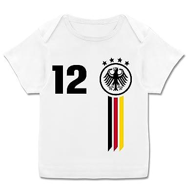 Fußball-Weltmeisterschaft 2018 - Baby - 12. Mann Deutschland WM ...