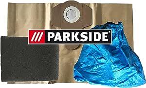 Juego de 3 Parkside filtro: 1 x Filtro húmedo, 1 x Filtro para ...