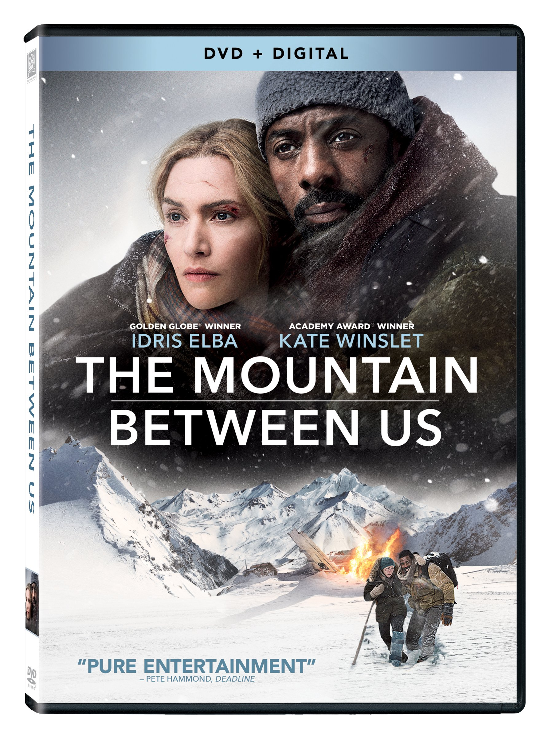 DVD : The Mountain Between Us (Digitally Mastered in HD, 2 Pack, Widescreen, Dolby, AC-3)
