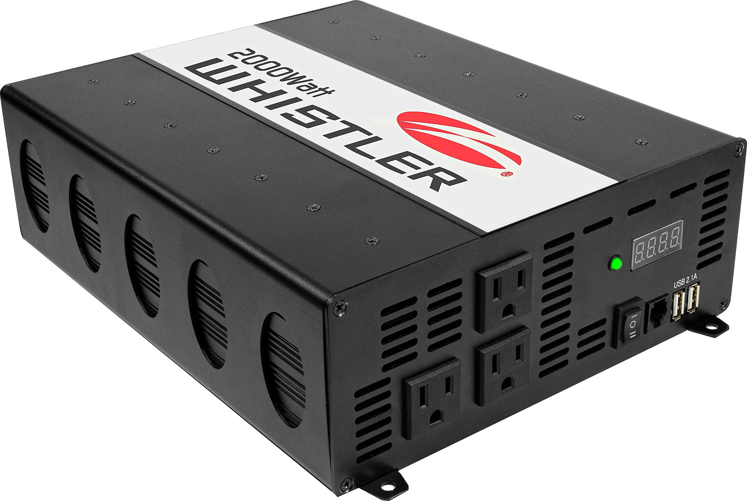 Whistler XP2000i Power Inverter: 2000 Watt Continuous / 4000 Watt Peak Power