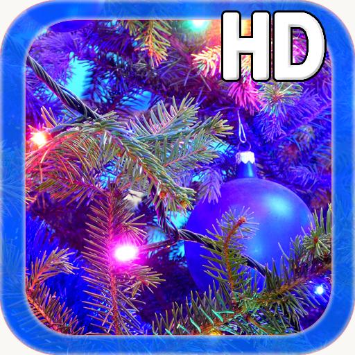 Christmas Tree LWP (Christmas Hd Snow Lights Wallpaper)