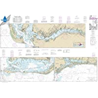 Paradise Cay Publications, Inc. NOAA Chart 11427: Intracoastal Waterway Fort Myers to Charlotte Harbor and Wiggins Pass…