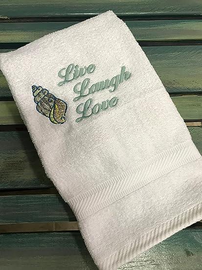 Bordado toalla de mano