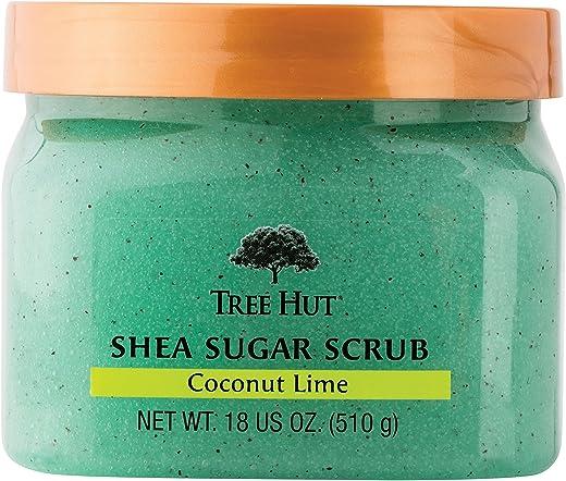 Tree Hut Shea Sugar Body Scrub Coconut Lime 18 oz