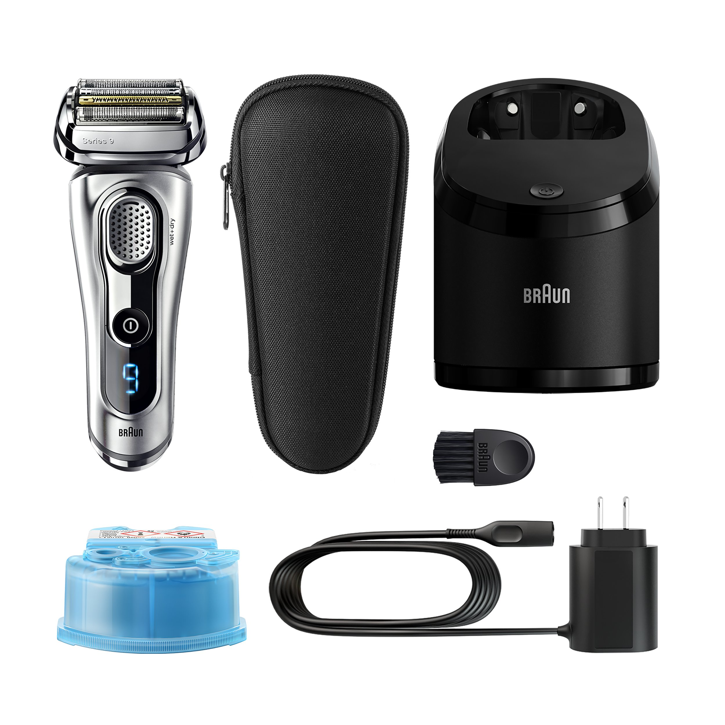 Braun Series 9290CC Men's Electric Foil Shaver / Electric Razor, Wet & Dry, Travel Case with Clean & Charge System by Braun (Image #2)