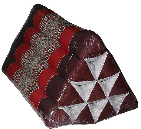 Amazon.com: Mon khwan Thai tradicional Cojín Triángulo (10 ...