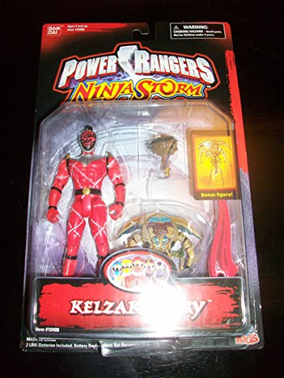 Amazon.com: Power Rangers 2003 Ninja Storm Evil Space Alien ...