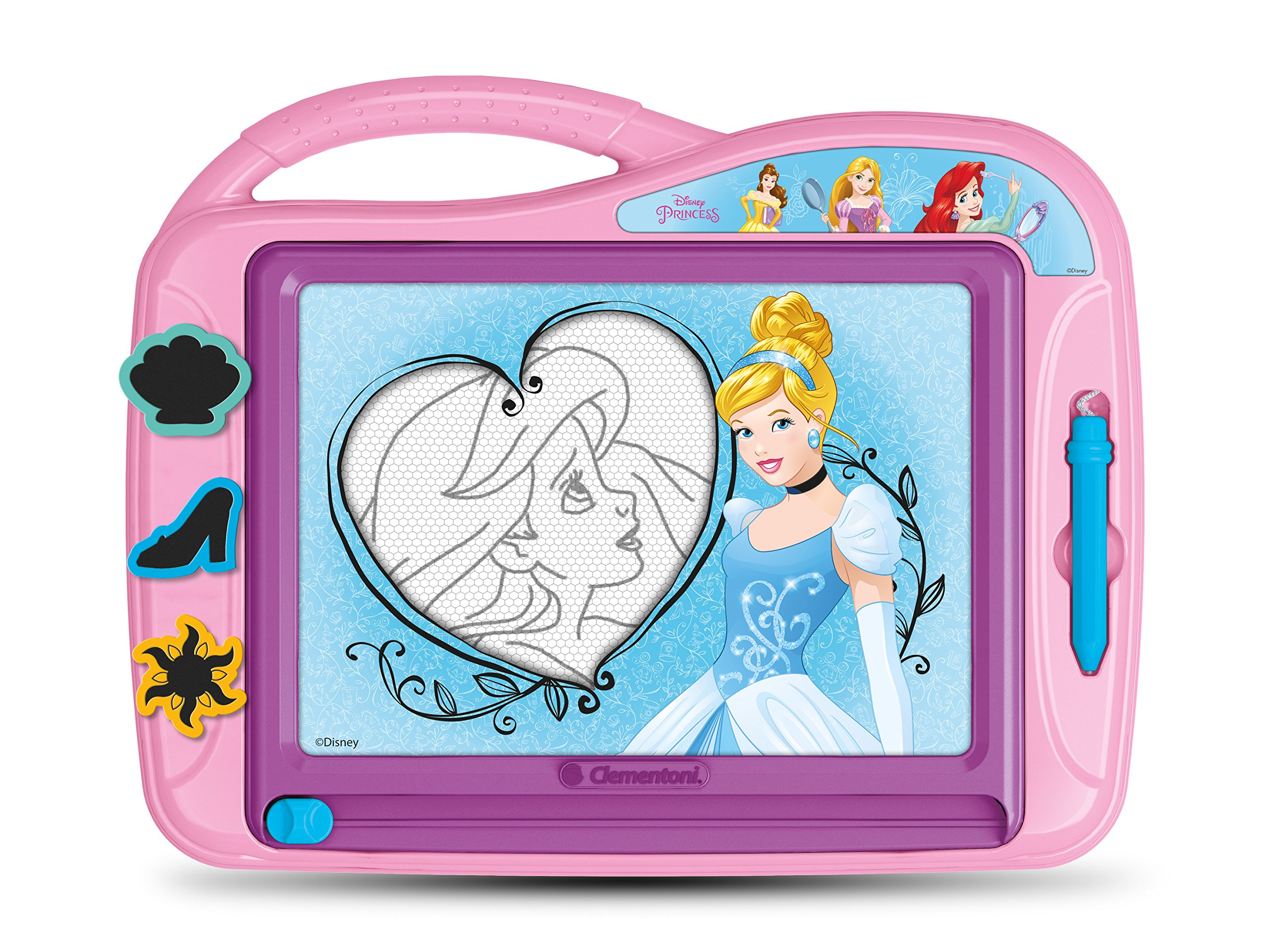 Clementoni - 15165-Princesses - Ardoise magique-Jeu créatif product image