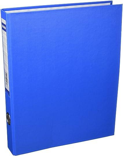 5 Star 931316 - Carpeta de 2 anillas, 25 mm, color azul ...