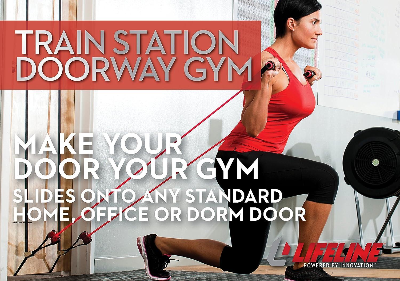 Lifeline TRAIN STATION DOORWAY GYM Ausdauertraining Crosstrainer