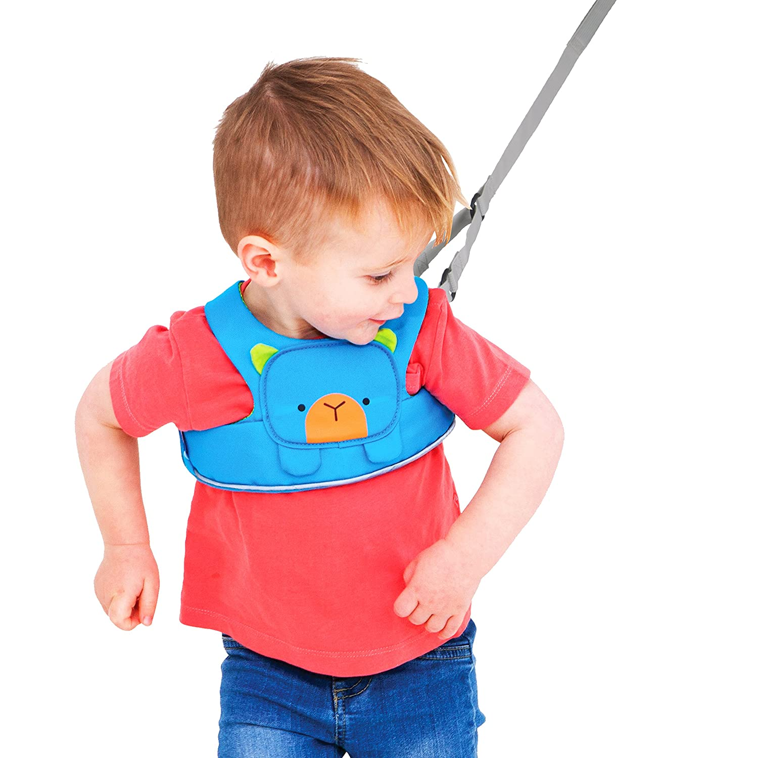 f23f5c9092ed Trunki ToddlePak - Fuss Free Toddler Walking Reins   Kids Safety Harness -  Bert (Blue)  Amazon.co.uk  Luggage