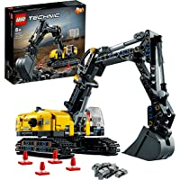 LEGO® Technic Ağır Yük Ekskavatörü 42121; Kepçe Oyuncaklarını Seven Erkek ve Kız Çocuklar için 2'si 1 Arada Model Yapım…