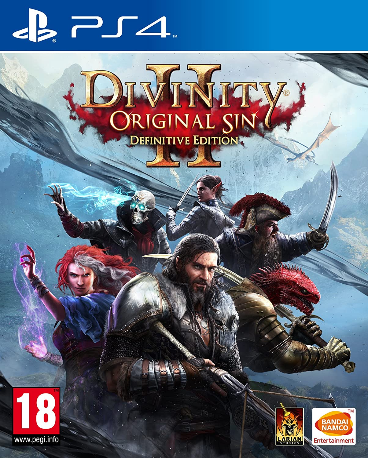 Divinity Original Sin 2 Definitive Edition (PS4): Amazon co