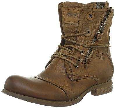 7543475f0a Bunker Por, Boots homme - Marron (Ki Tabac), 43 EU: Amazon.fr ...