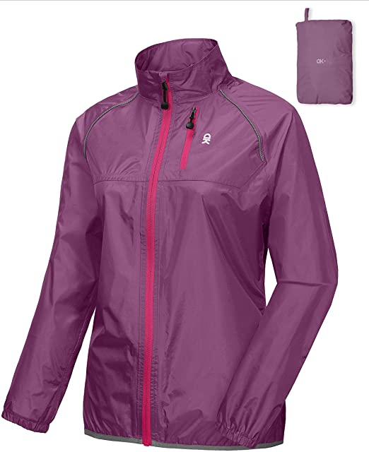 Little Donkey Andy Womens UPF 50 Protection Jacket Lightweight Packable Full Zip Hoodie for Running Cycling Walking