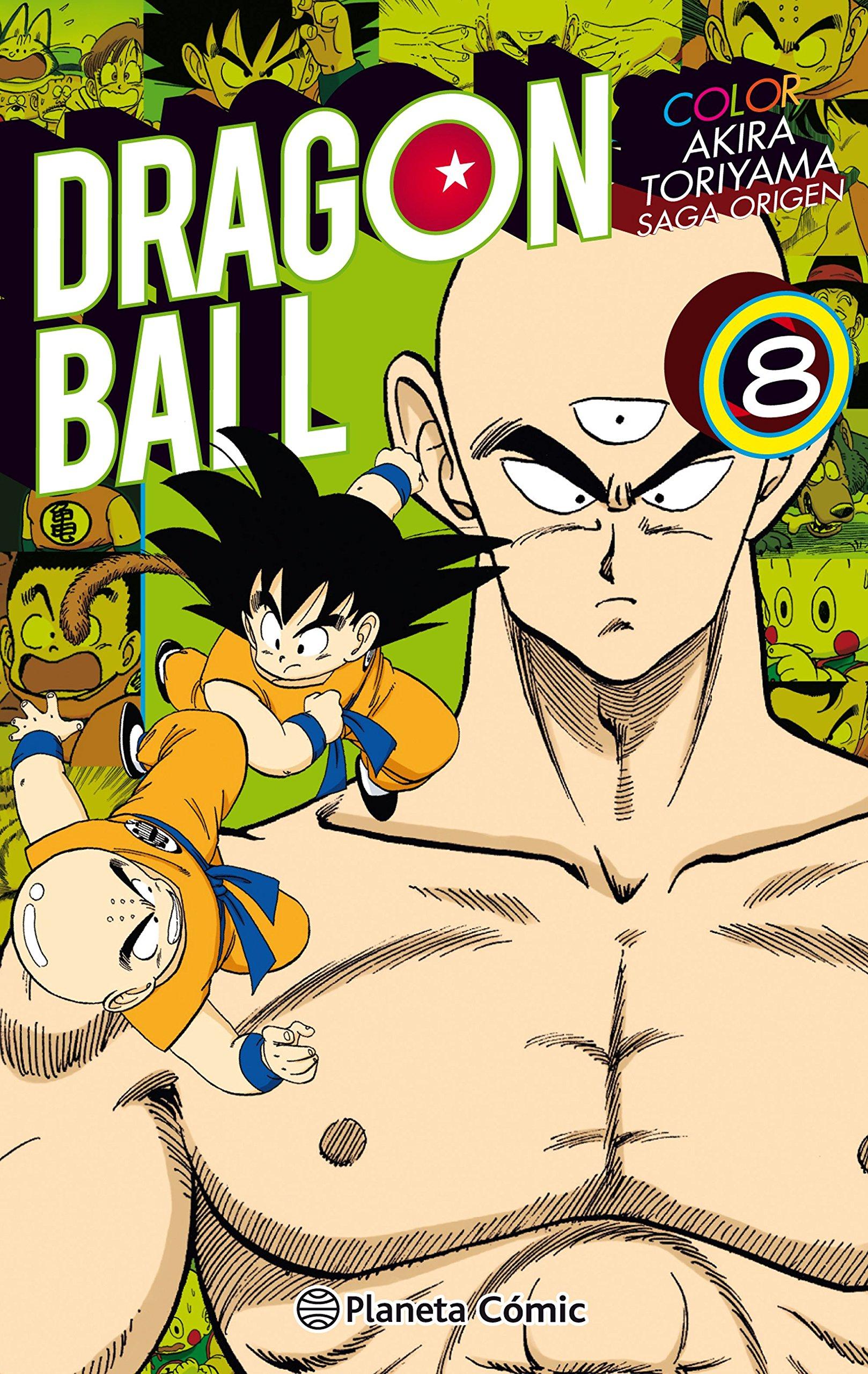 Dragon Ball Color Origen y Red Ribbon nº 08/08 (Manga Shonen) Tapa blanda – 18 sep 2018 Akira Toriyama Daruma Planeta DeAgostini Cómics 8491468250