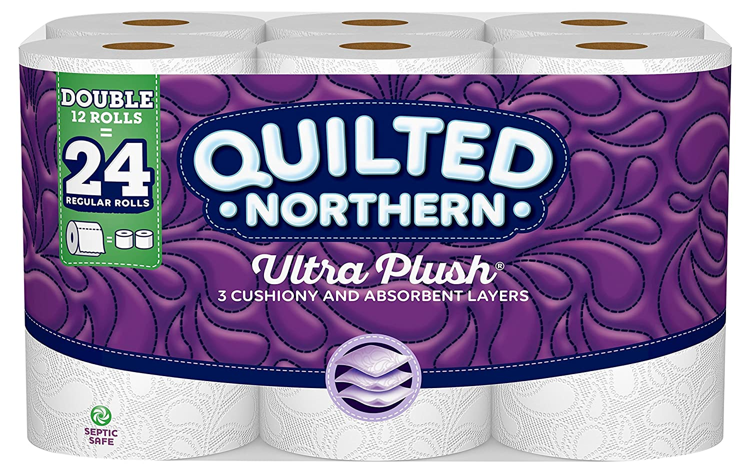 Amazon Com Quilted Northern Ultra Plush Toilet Paper 12 Double