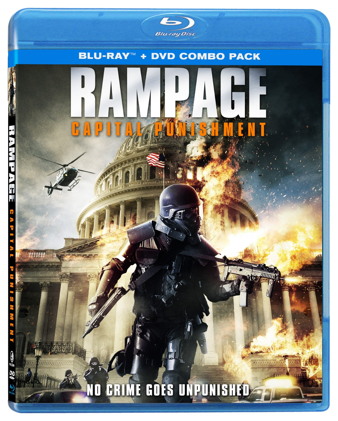 Blu-ray : Rampage: Capital Punishment (With DVD, Widescreen, Amaray Case)