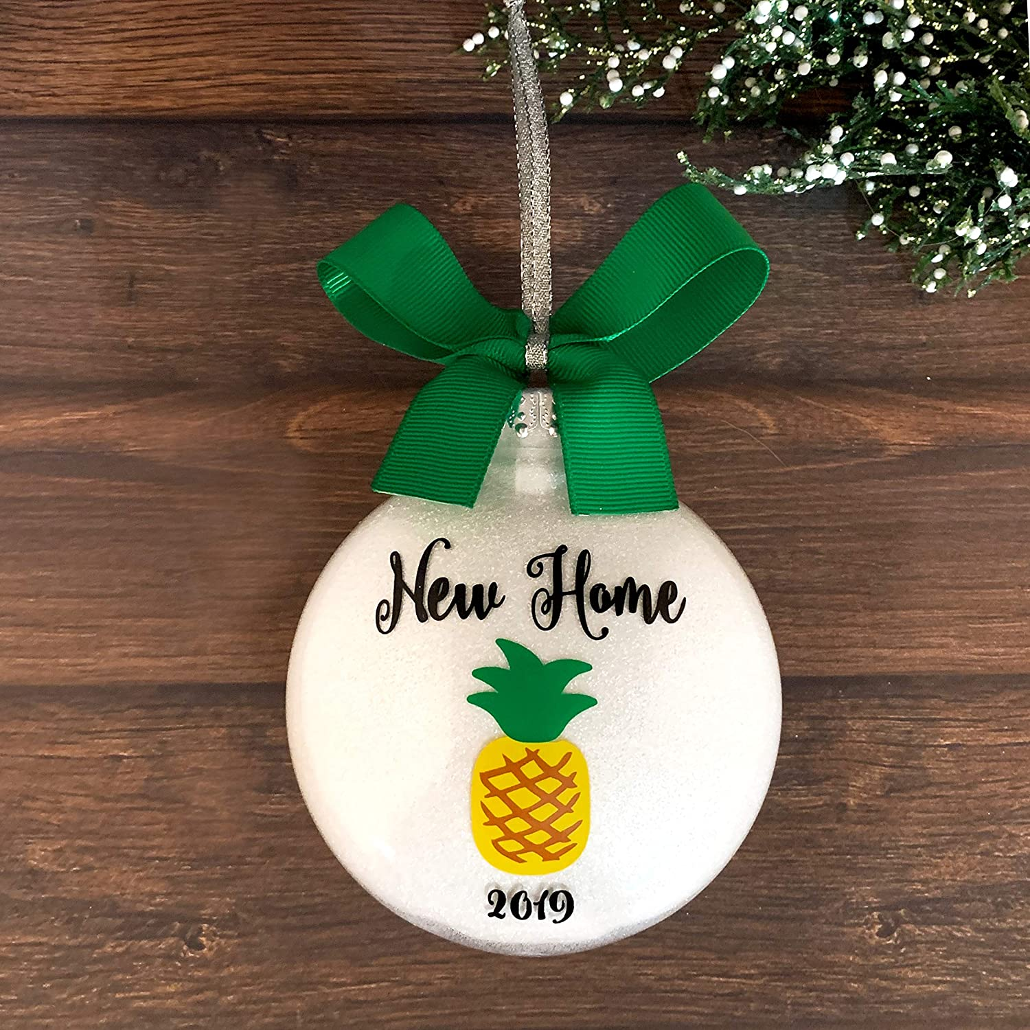 White House Christmas Ornament 2019.New Home Christmas Ornament 2019 New Homeowner Gifts Personalized New House Gift
