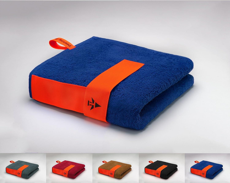 skilly®, Flex Band, asciugamano sport, blu