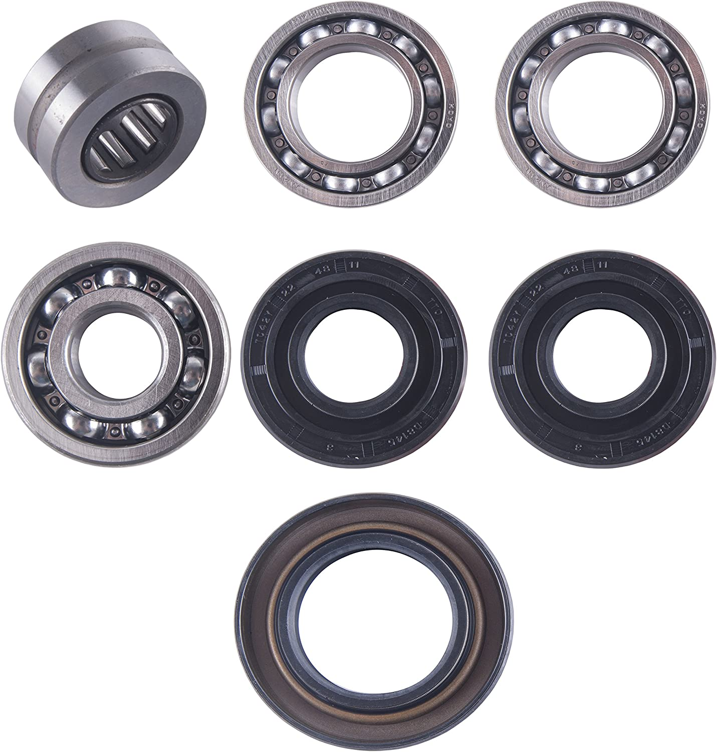 400 Big Bear East Lake Axle rear axle carrier bearing /& seal kit compatible with Yamaha 350 Bruin//Wolverine