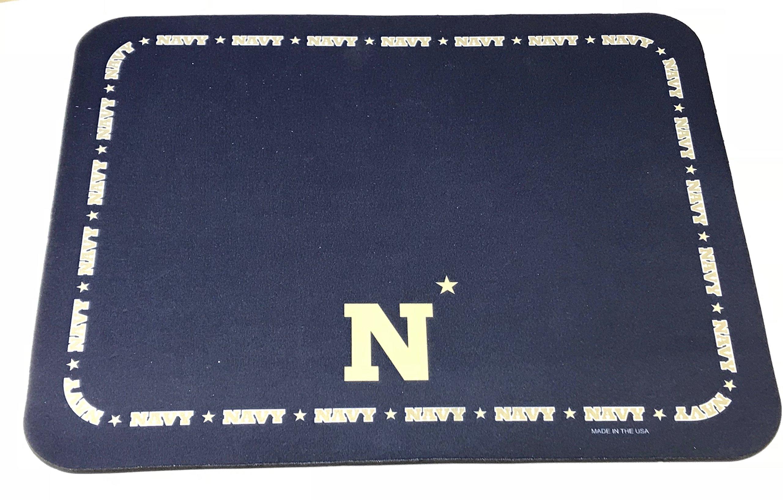 NCAA Collegiate Placemats - Navy - Set of 4