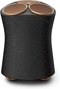 Sony SRS-RA5000 360 Reality Audio Premium Wireless Speaker with Wi-Fi, Bluetooth, Wireless Streaming, Chromecast Built-in, Works with Google Assistant