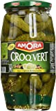 Amora Cornichons Croq'Vert Fins 550g - Lot de 3