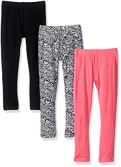 4a1418724bd37c Amazon.com: Freestyle Revolution Girls' Toddler 3pk Animal Print Leggings  Sets: Clothing