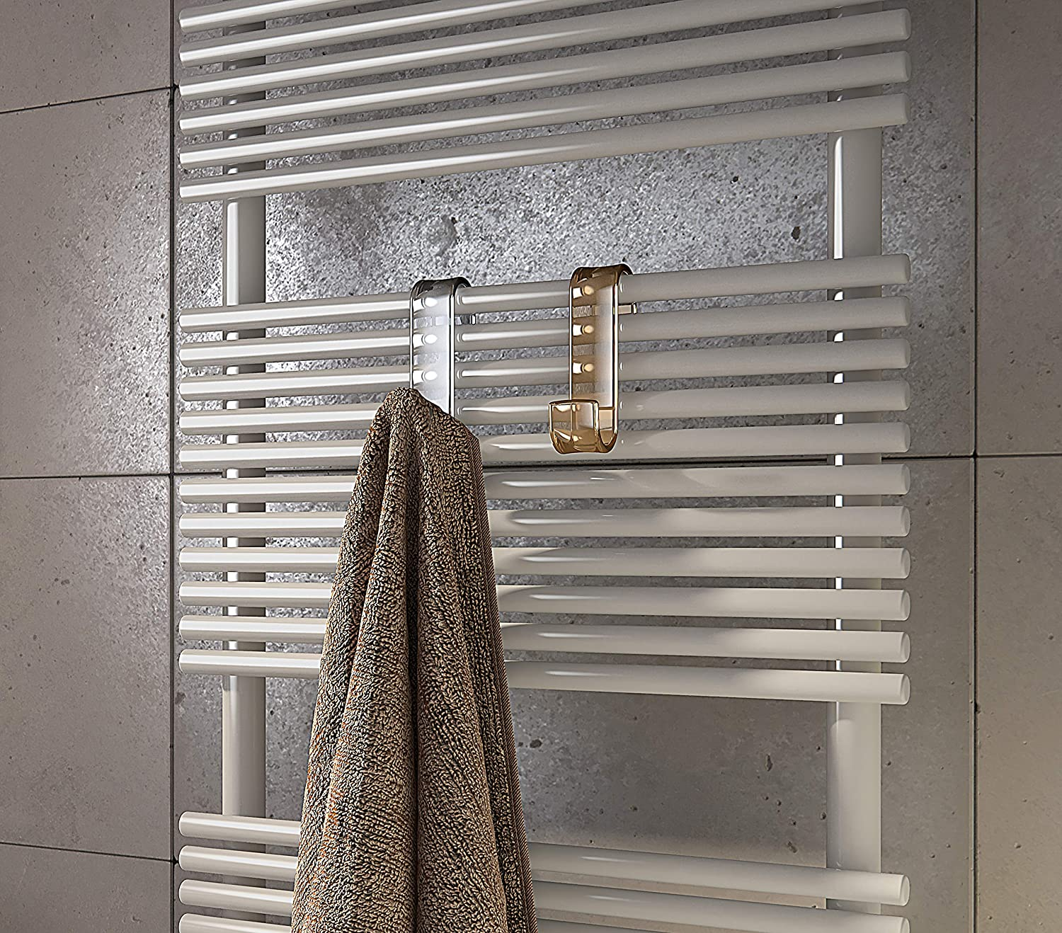 Color Gedy Percha Resina termopl/ástica Beige