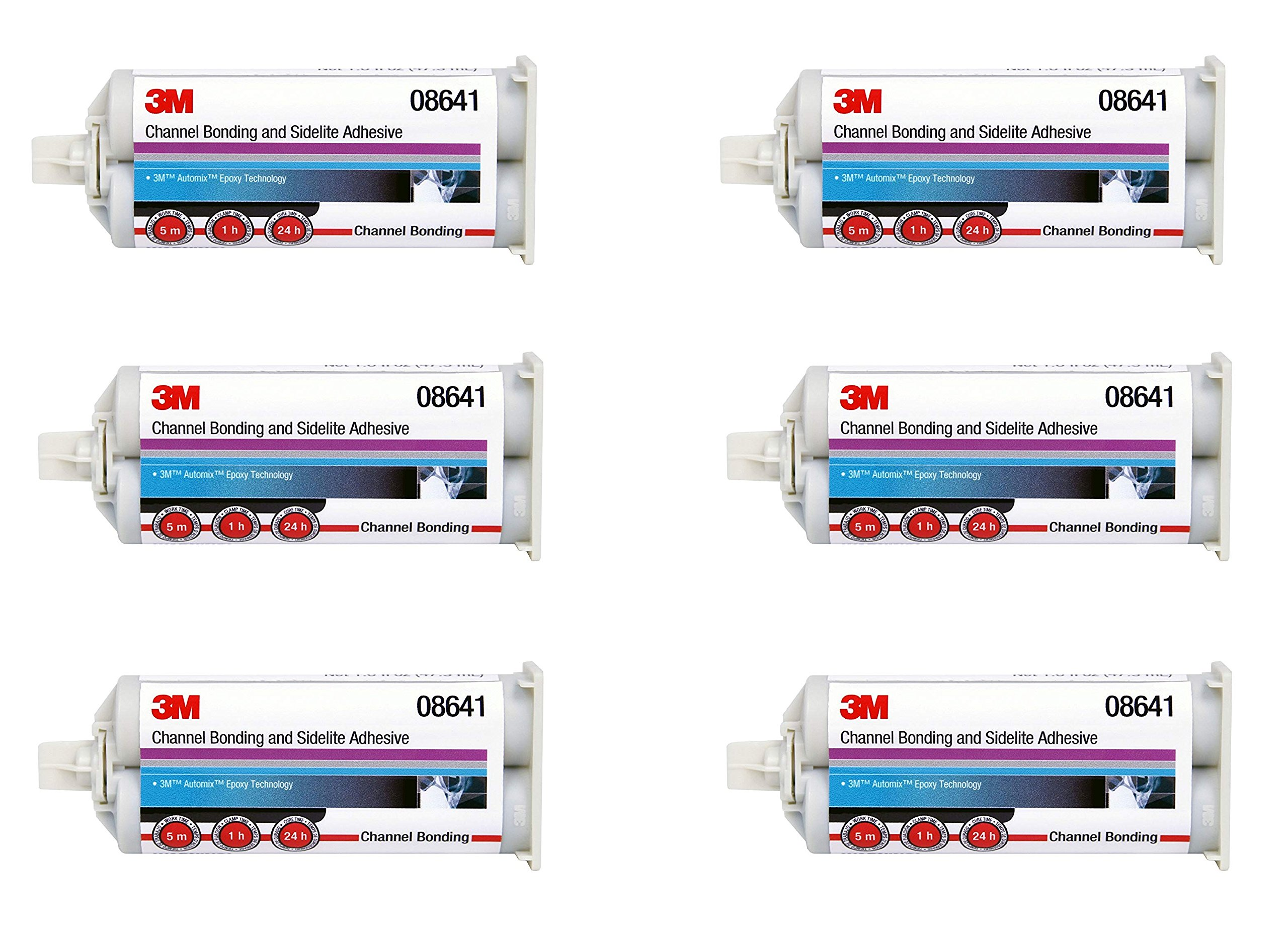 3M  08641 Channel Bonding and Sidelite Adhesive (6)
