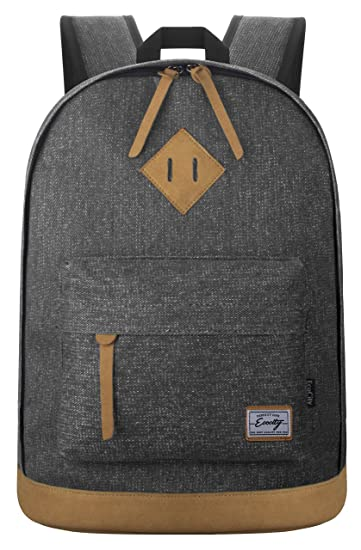 Amazon.com | EcoCity Unisex Classic Travel Laptop Backpacks School ...