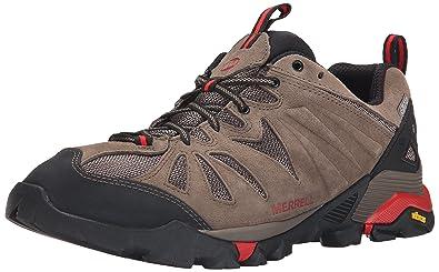 Merrell Men's Capra Waterproof Hiking Shoe, Boulder, ...
