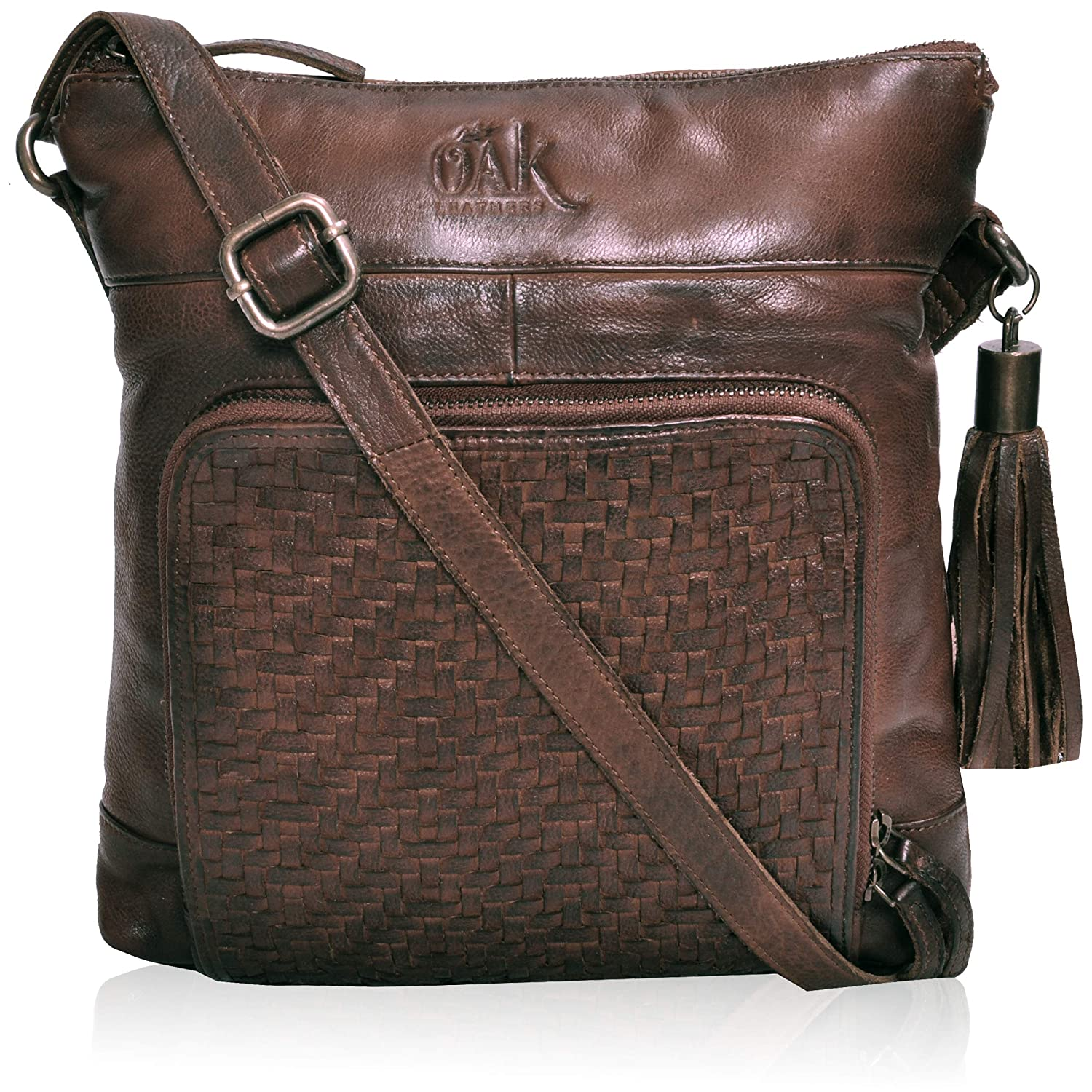 Brown Washed Leather Crossbody Bags for WomenCrossbody purse for women Leather Crossbody purse Small Crossbody Bag Travel crossbody