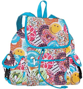 Amazon.com | iscream Happy Donuts Deluxe Knapsack Style 16.5