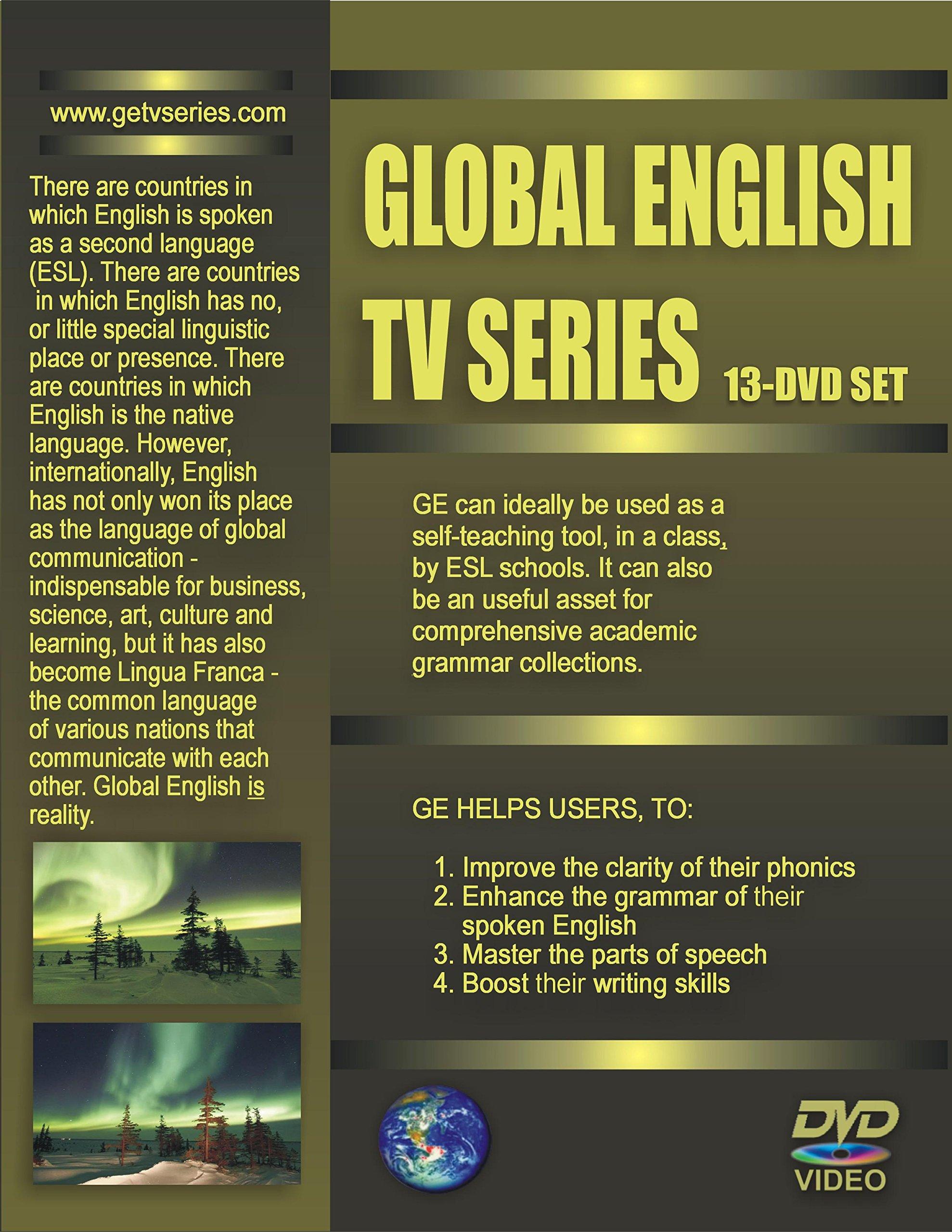 GLOBAL ENGLISH TV SERIES - 13 DVDs SET