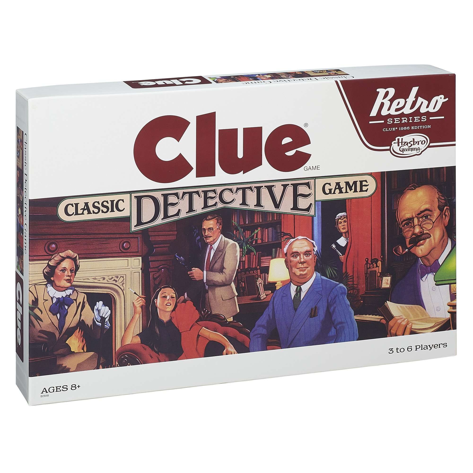 Retro Series Clue 1986 Edition Game by Hasbro (Image #3)