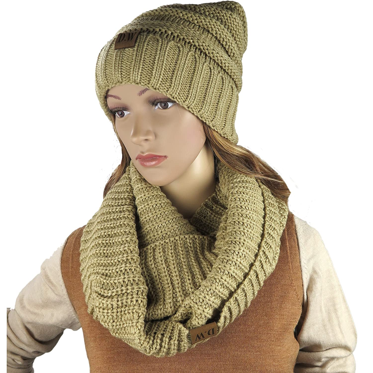 ca4983d589f72 STAY WARM AT ALL TIMES  Winter is coming and you need the right accessories  to stay warm at all times! The Debra Weitzner winter set includes the most  ...