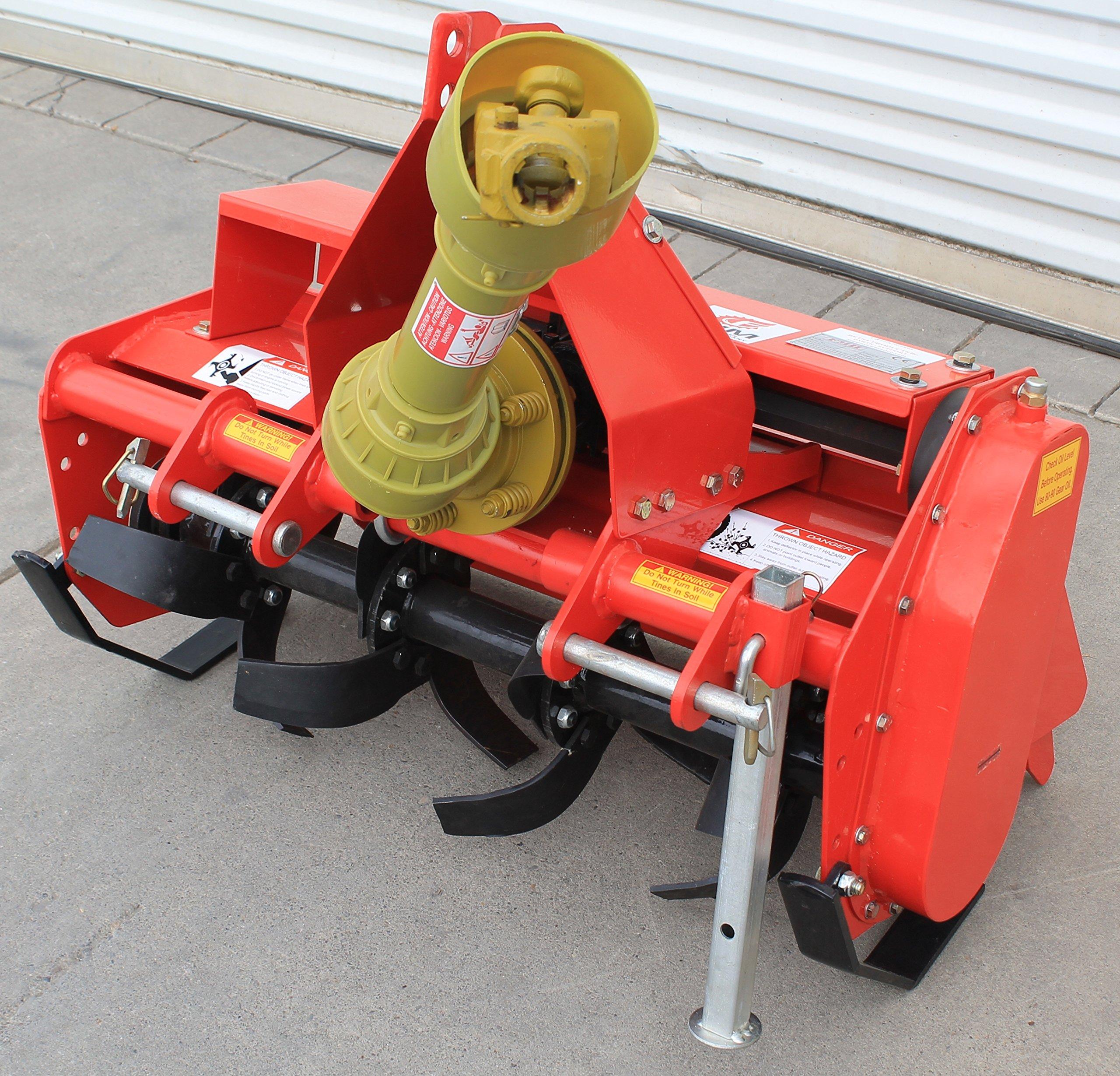 Value Leader 33'' Tiller Cat.I 3pt 14+hp (FH-TL85) ~Adjustable Offset & SlipClutch Driveline by Farmer-Helper (Image #6)
