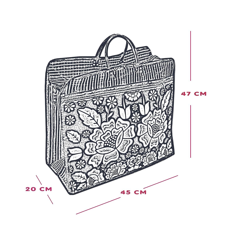 Amazon.com: Bolsa Negra, FLOR TEHUANA*. Bolsa de Malla, mide ...