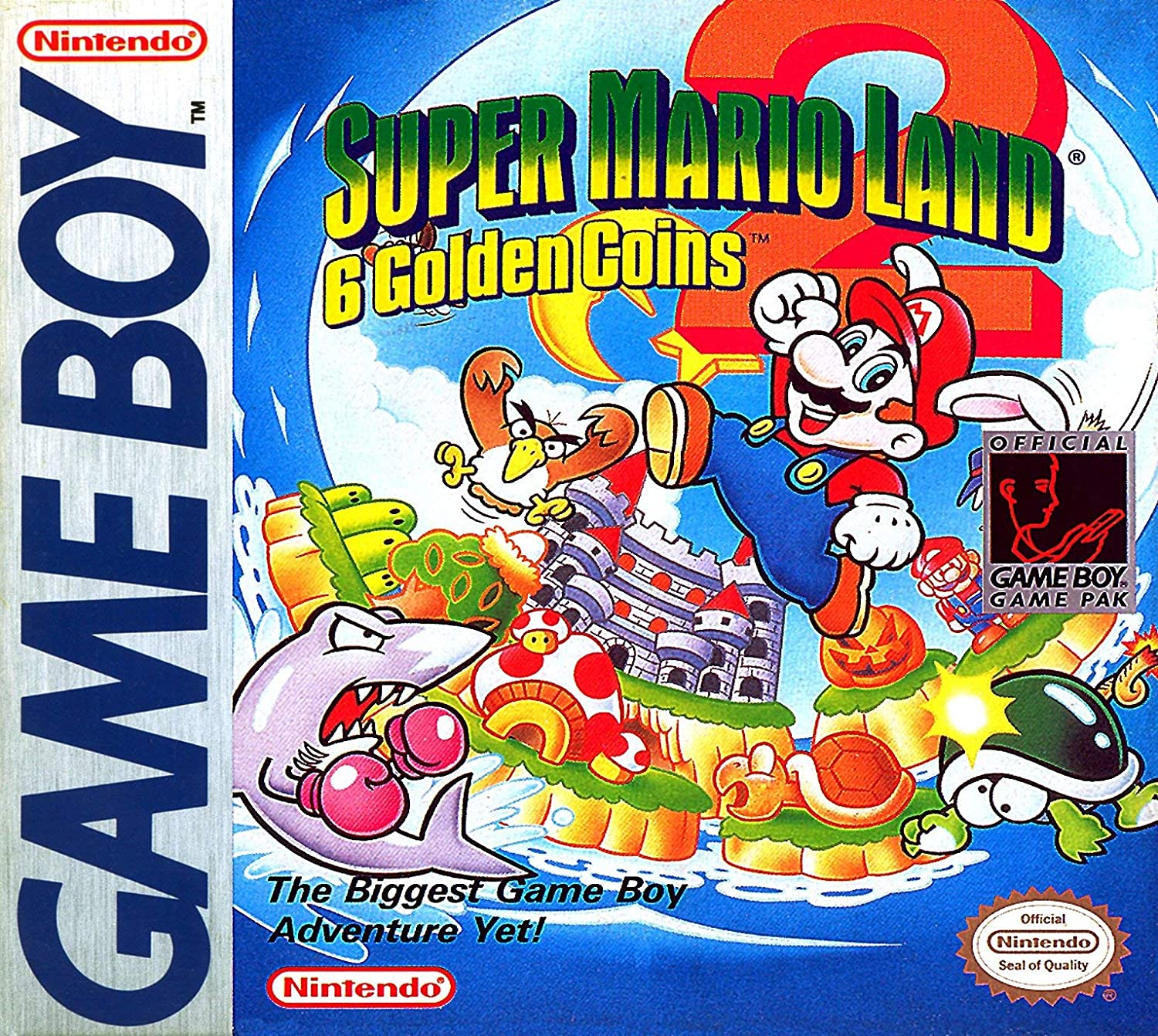Super Mario Land 2: 6 Golden Coins (Renewed): Video Games