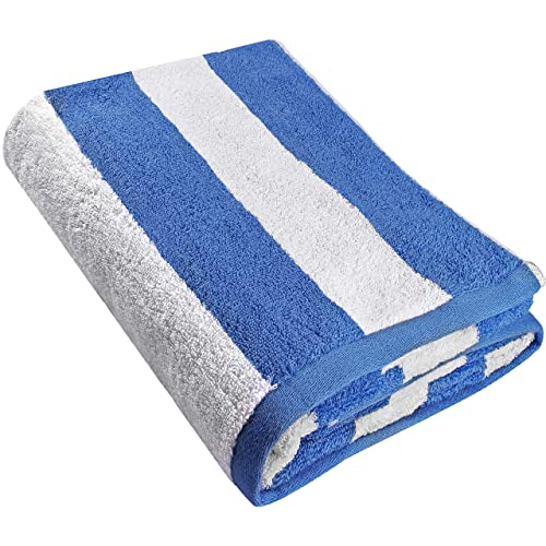 Utopia Towels Cabana Stripe Beach Towel - Large Pool Towel - Extra Large Bath Sheet (
