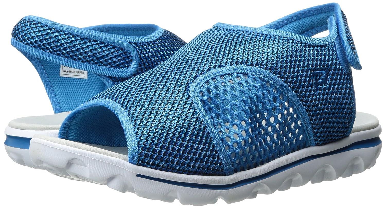 Propet Women's B01IODC5PC TravelActiv Ss Sandal B01IODC5PC Women's 6.5 W US|Blue/Black 3b7eef